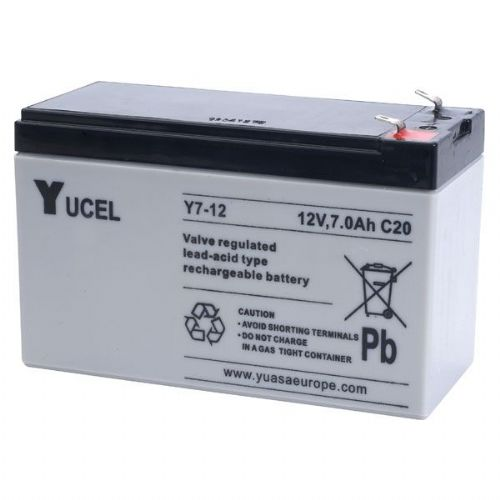 Y7-12 Yucel 12v 7Ah Battery
